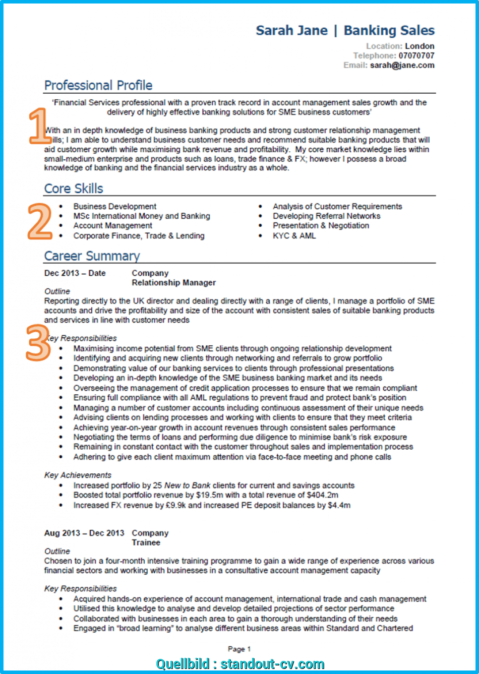 Ausgezeichnet 10 CV Samples With Notes, CV Template, UK [Land Interviews], Cv English Example Great Britain