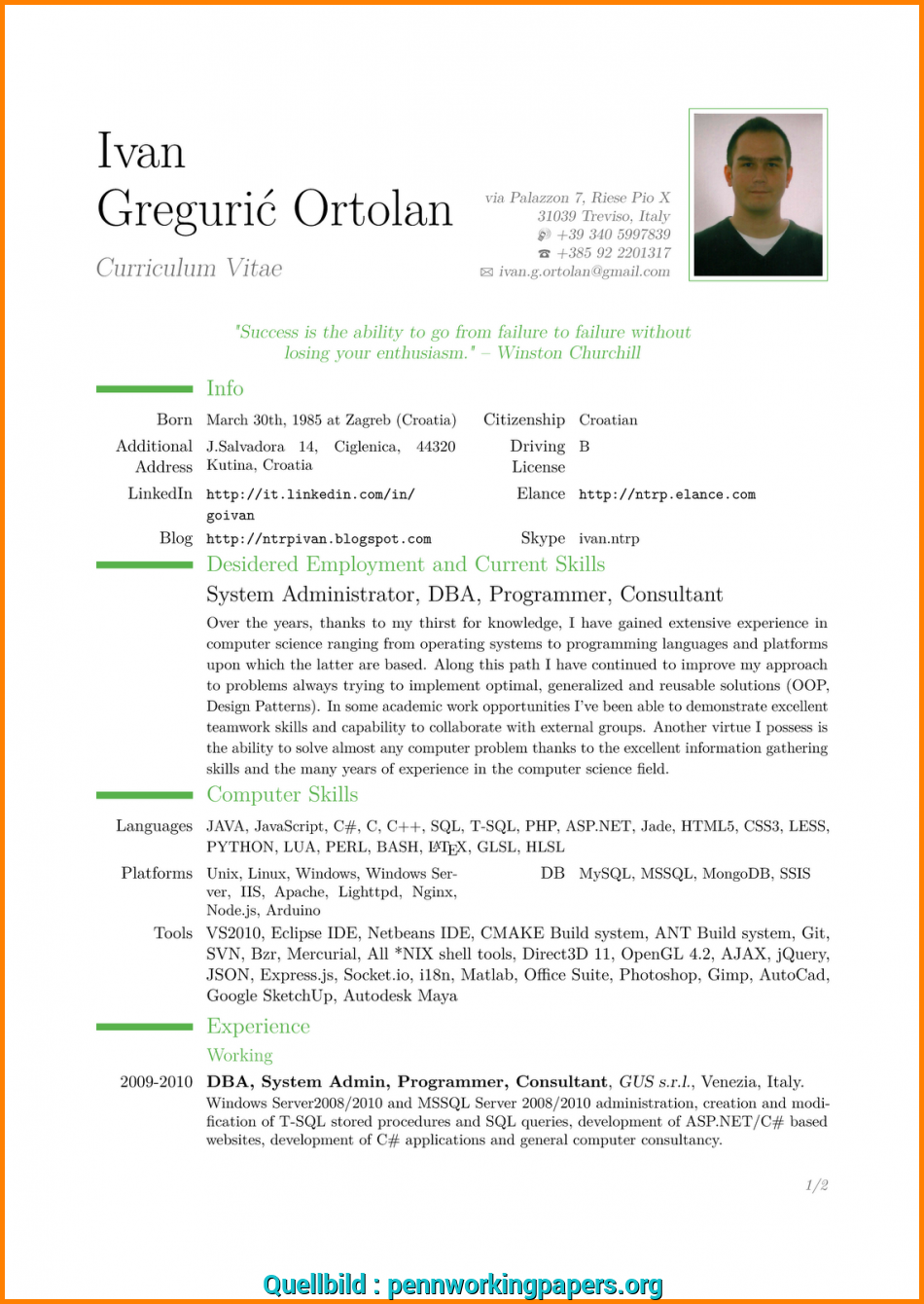 Vorhanden English Cv Template Download.Browse-Modern-Resume ...
