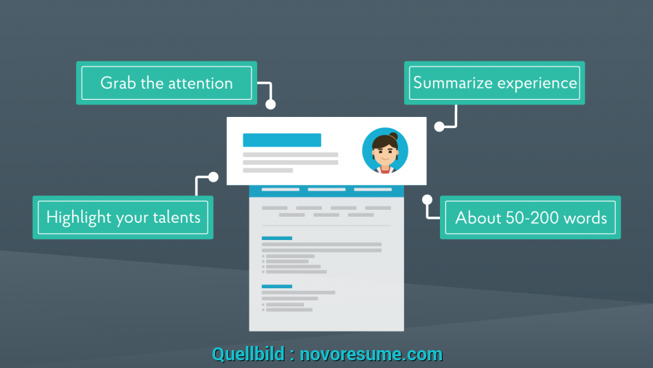 Neueste CV Personal Statement [2019], Ultimate Guide + Examples, Cv Personal Statement Beispiel