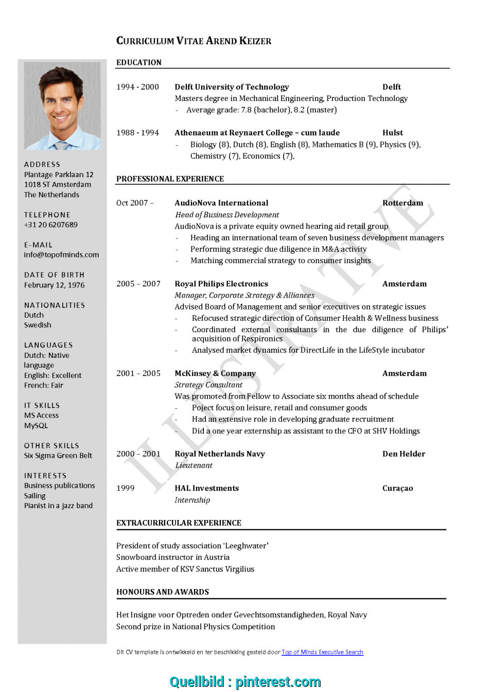 Einfach Free Curriculum Vitae Template Word Download Cv Template When English Cv, To Write Cv In English, Cv Template Word English