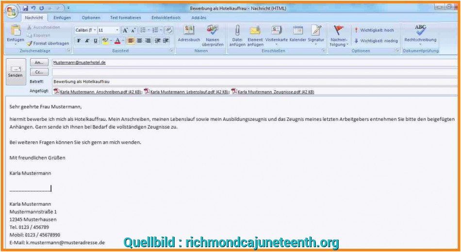 Liebling 12+ Initiativbewerbung Email Text Beispiel, Richmondcajuneteenth, Email Text, Initiativbewerbung