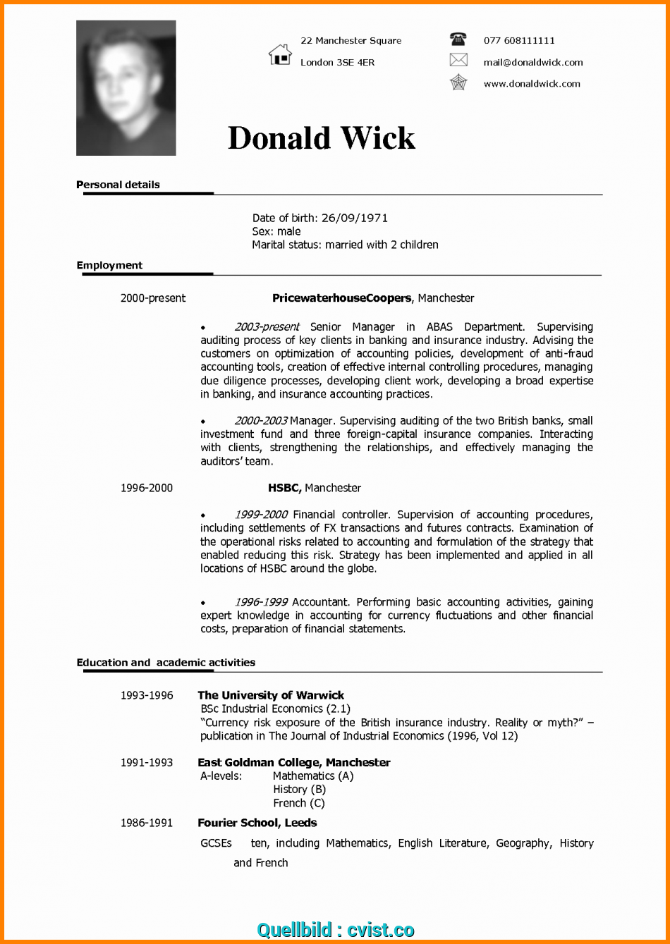 komplex british cv format uk format resume beautiful cv