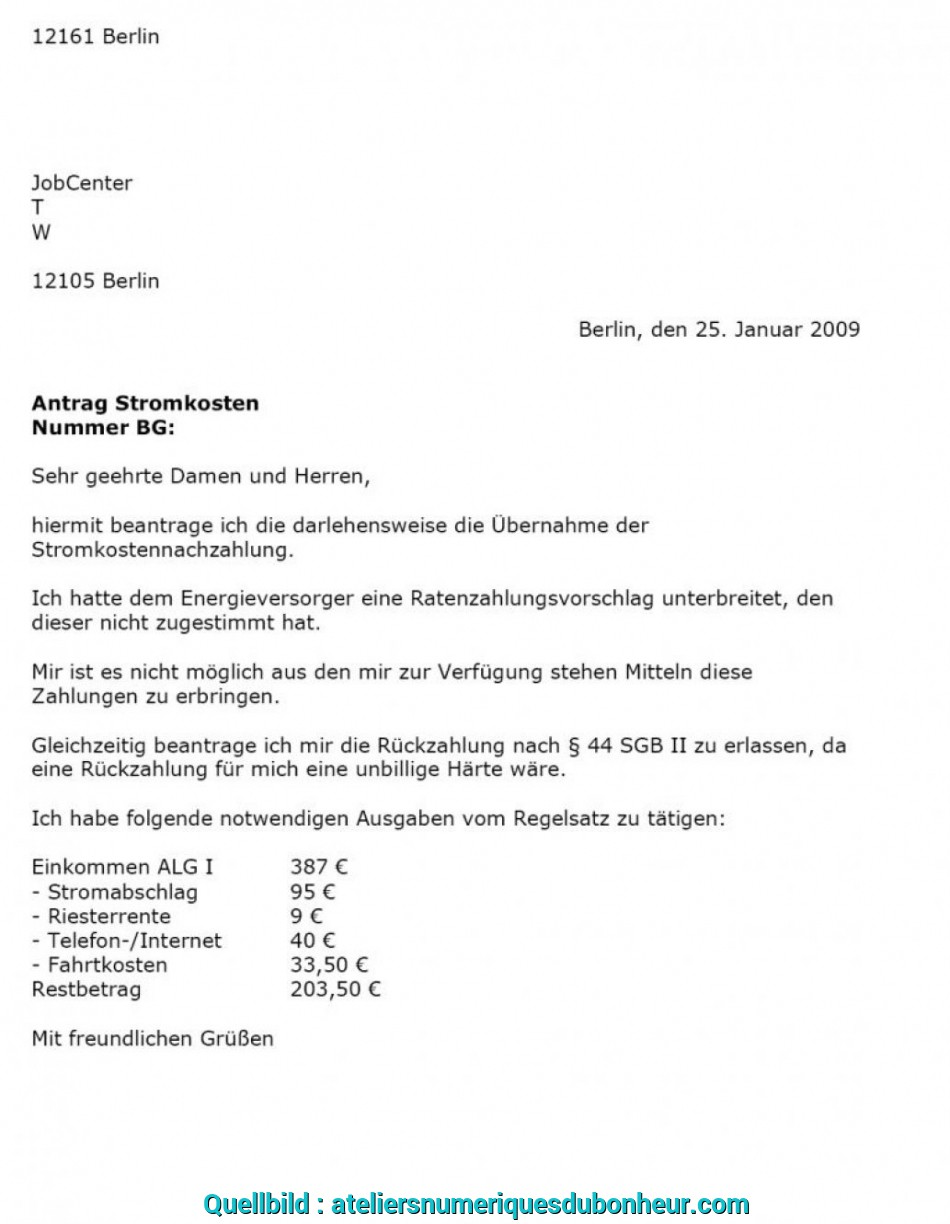 Antrag Ratenzahlung Jobcenter Muster