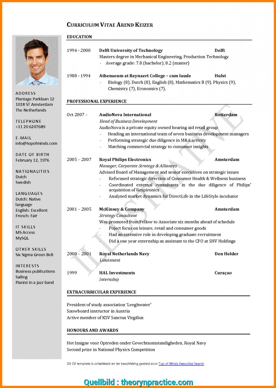 Liebling Cv Layout Template Word .B822D9B555Cd2691394B61Ac220Ed095.Png, Lebenslauf Layout, Word