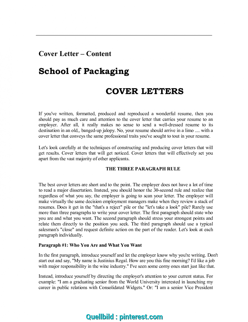 Großartig Cover Letters, With ResumeCover Letter, Resume Cover ...