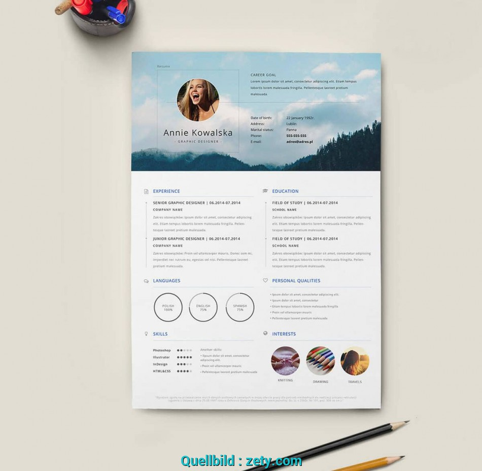Oben Free Resume Templates: 18 Downloadable Resume Templates To Use ...