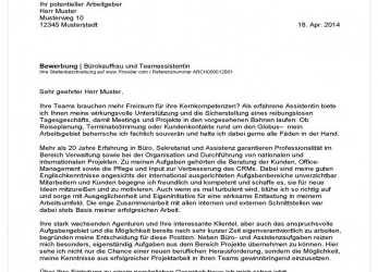 Praktisch 14+ Bürokauffrau Bewerbung Muster, Emovoid, Bewerbung, Bürokauffrau Muster