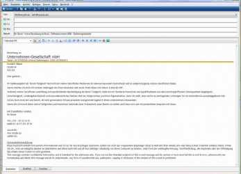 Einfach 14+ Bewerbung Email, Sscc-Ithaca, Bewerbung Email Name