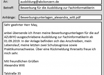 Akzeptabel 87, To Write Bewerbung Email Simple Step : Bewerbung Schreiben, Bewerbung Email Rückmeldung