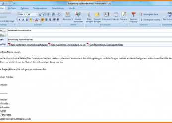 Trending 15+ Email Text Bewerbung Muster, Tchoups Market, Bewerbung, Email Text