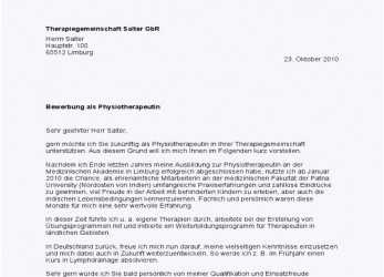Komplett 17+ Bewerbung Physiotherapeut, Sscc-Ithaca, Bewerbung, Physiotherapie