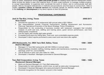 Briliant General Manager Resume Free Templates Groß Restaurant Manager Luxus Bewerbungsanschreiben Gastronomie, Bewerbungsschreiben Restaurant Manager