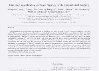 Experte E Step Quantitative Cortisol Dipstick With Proportional Reading, Download Available Frisches 30 Caesar Lebenslauf, Caesar Lebenslauf, Caesar Lebenslauf Pdf