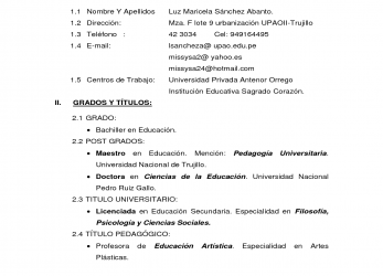 Detail Simple En Word, Currículum Vítae, Curriculum Vitae Simple, Curriculum Vitae 1 Hoja