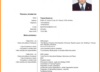 Perfekt European Curriculum Vitae.English-Curriculum-Vitae -Template-Targer-Golden-Dragon-Co-Within-European-Curriculum-Vitae.Png, Curriculum Vitae English European Union