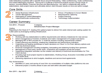 Original Example Of A Good CV, 13 Winning, [Get Noticed], Curriculum Vitae Example