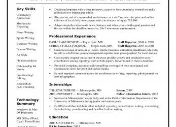 Detail Journalism Resume Examples Fabulous Cover Letter Example Broadcast, Curriculum Vitae Journalist