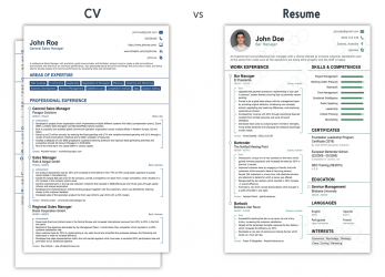 Liebling CV Vs Resume, What Is, Difference? [+Examples], Curriculum Vitae Or Resume