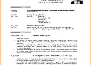 Praktisch ... Blank Cv Templates, Format, Download With Resume To Print Plus Rare Template British Style, Cv English Example British Style