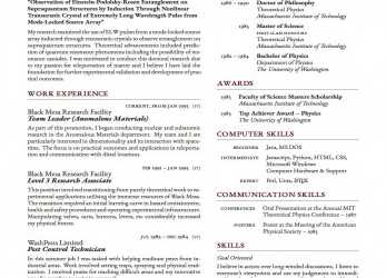 Akzeptabel Latex-Templates-Curricula-Vitae-Resumes, Cv Europass Online Word