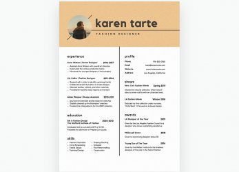 Kostbar Free Online Resume Builder: Design A Custom Resume In Canva, Cv Template Canva