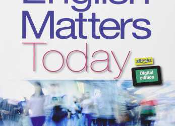 Prämie English Matters Today., Le Scuole Superiori., E-Book., Espansione Online Paperback, 1, 2014, English Matters Today Europass