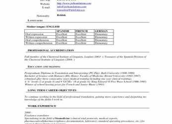Trending Curriculum Template Word Cv European Tbpluwch Wonderful Vitae Format, Europass Cv Format English Download
