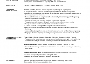 Großartig TEFL Resume Sample CV Format, Teaching English Abroad At Teachers, Example Cv, Teaching English Abroad