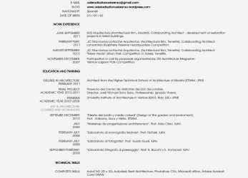 Komplett Cv Europass English Example Cool Curriculum Vitae English Sample, Best European Format Resume Voir Of, Example Of Europass Cv In English