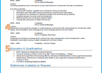 Erweitert Example Of A Good CV, 13 Winning, [Get Noticed], How To Do A Curriculum Vitae In English Examples