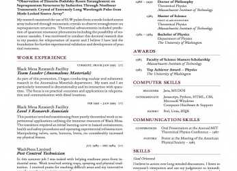 Neu LaTeX Templates » Curricula Vitae/Résumés, Lebenslauf Cv Latex