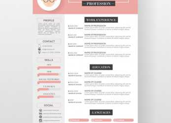 Prime Free Resume Templates Graphic Design #Design #Freeresumetemplates #Graphic #Resume #Templates, Lebenslauf Design Free