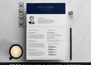 Perfekt Free Resume Templates, Word: 15 CV/Resume Formats To Download, Lebenslauf Word Vorlage Free