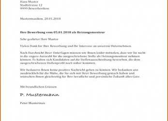 Neu 20+ Muster Absage Bewerbung, Yimanglin, Musterbrief Absage Initiativbewerbung