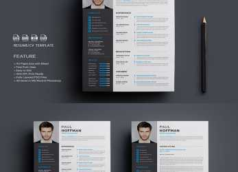 Kostbar 40 Best 2019'S Creative Resume/CV Templates, Printable DOC, Template Cv Creative Word Free