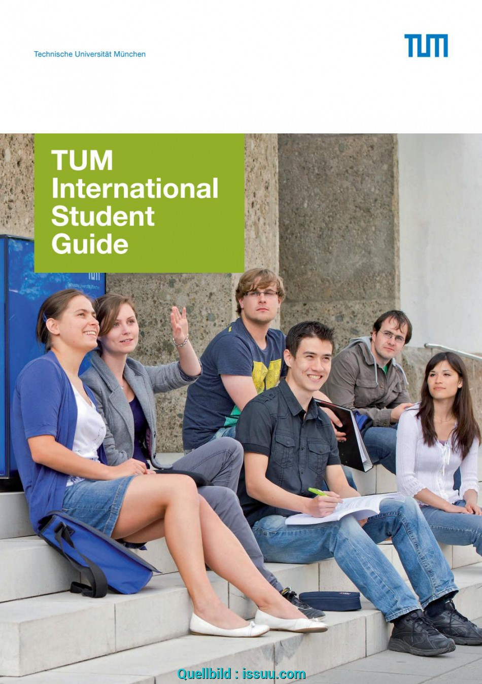 Liebling International Student Guide By, Student Support, Issuu, Tum