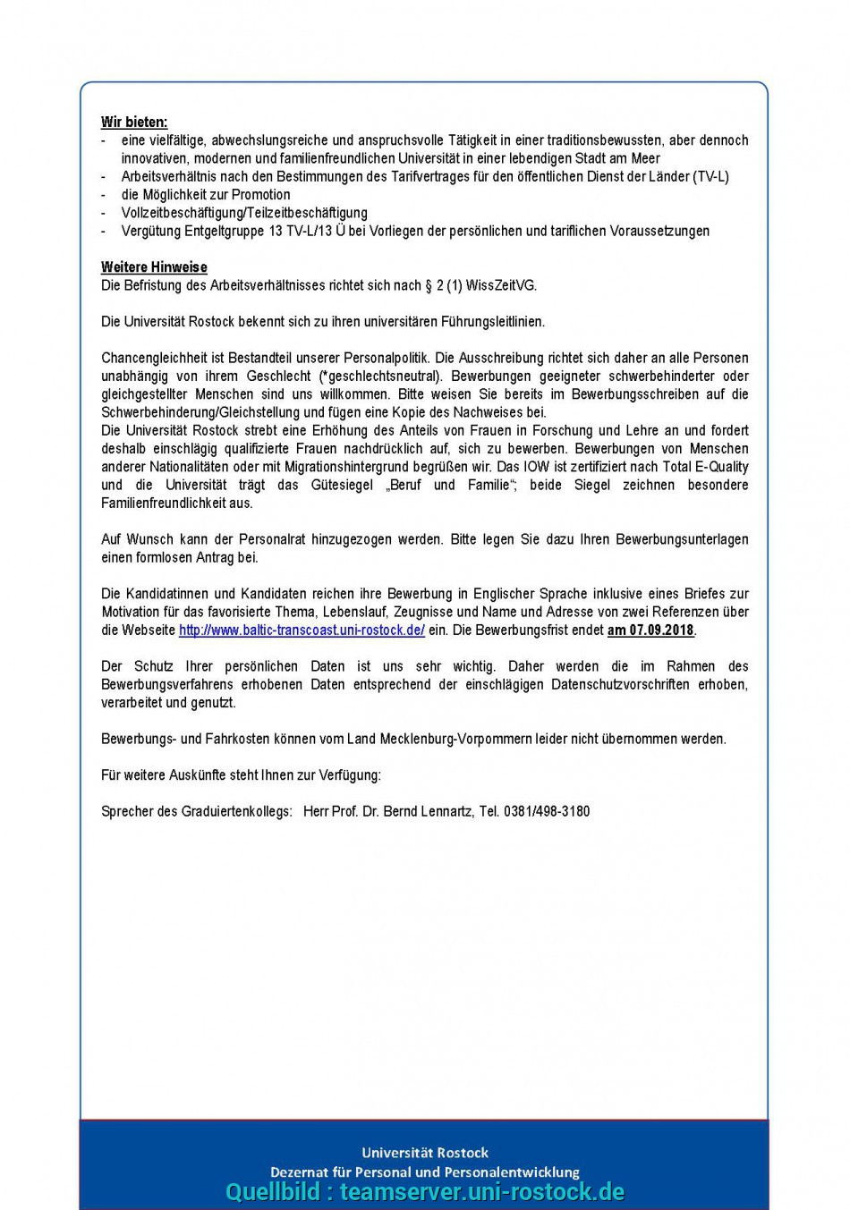 Wertvoll D101-18_Advertisement_Phd_Candidates_Starting_2019_Seite_1.Jpg D101-18_Advertisement_Phd_Candidates_Starting_2019_Seite_2.Jpg, Uni Kiel Bewerbungsunterlagen Adresse