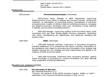 Kostbar Good Format Of Cv American Curriculum Good Resume Examples Phwcnp, American Cv Format Examples