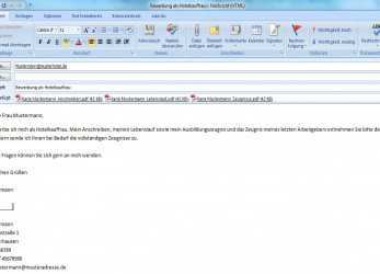 Trending Bewerbung Email Text, S2Pvintage, Bewerbung E Mail Adresse