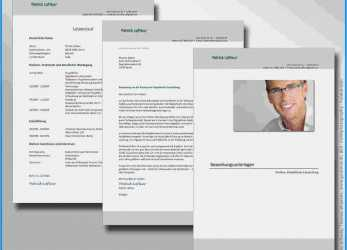 Komplett 15+ Bewerbung Layout Vorlage, Cant Wait Productions, Bewerbung Layout Muster