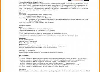 Wertvoll 8+ English Cv Sample, Penn Working Papers, Curriculum Vitae English Netherlands