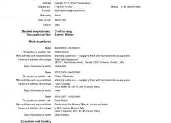 Akzeptabel Cv Form In English Download Cv Resume Examples To Download, Free Slideshare Europass Cv Download, Doc By Linzhengnd, Cv Europass English Download Word