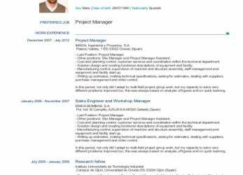 Detail Full Size Of Cv English Template Word Free With Example Download Plus Sample Together Templates As, Europass English Teacher Cv