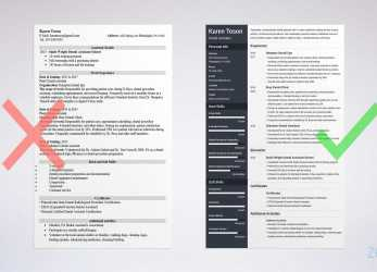 Komplex One-Page Resume Templates: 15 Examples To Download, Use Now, Lebenslauf Download Pages
