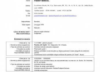 Neu Model De Cv Romana Basic Europass Cv Download Romana, Colette.Me, Model Cv Europass Download Romana