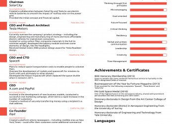 Trending This Résumé, Elon Musk Proves, Never, Ever Need To, More Than, Page, Vorlage Lebenslauf Ceo